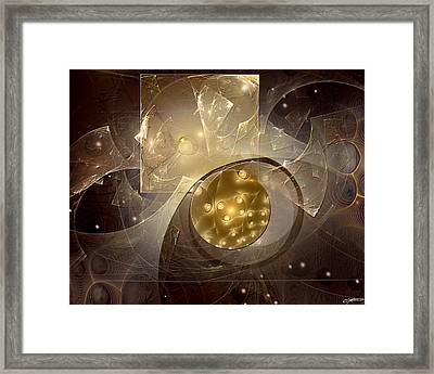 Entanglements With The Monolith Framed Print by Casey Kotas