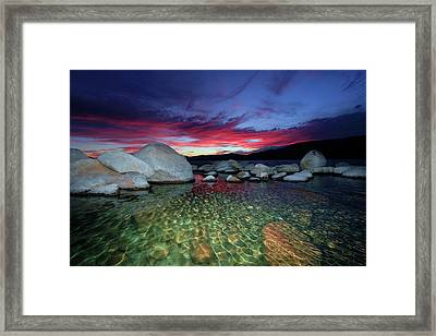 Enter A Tahoe Dream Framed Print