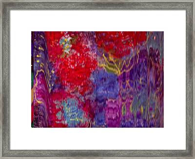 Enter If You Dare Framed Print by Anne-Elizabeth Whiteway