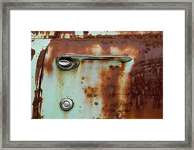 Enter Framed Print by Jennifer  Owen