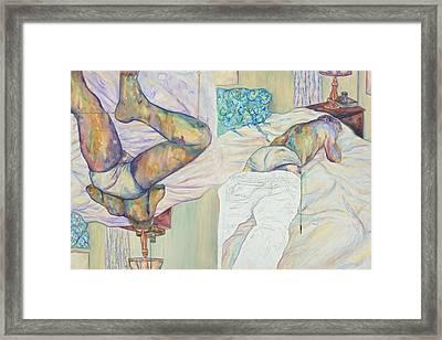 Enter Framed Print by Joseph Lawrence Vasile