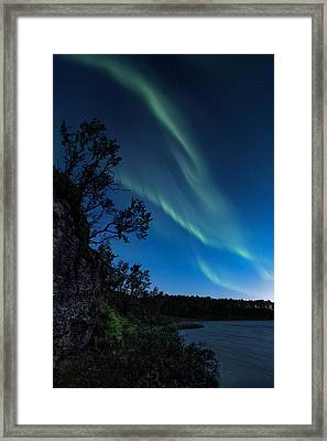 Enter Night Framed Print