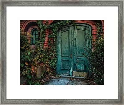 Enter October Framed Print