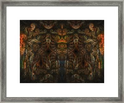 Enter Framed Print by Talasan Nicholson