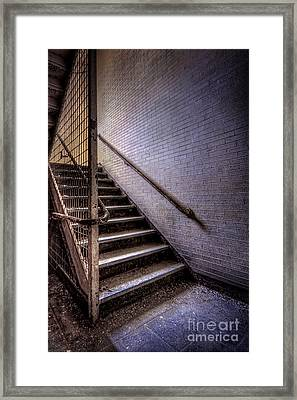 Enter The Darkness Framed Print by Evelina Kremsdorf
