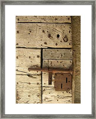 Enter The Keep Framed Print