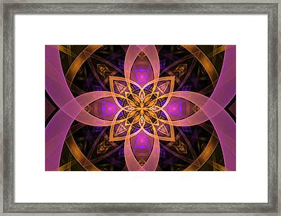 Enter The Portal Framed Print by Lyle Hatch