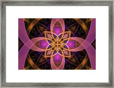 Enter The Portal Framed Print