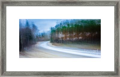 Enter The Slumberland Forest Framed Print