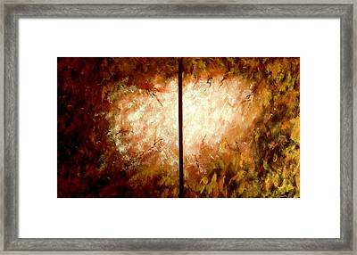 Enter-the Unknown Framed Print by Bertha Hamilton