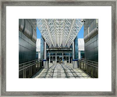 Entering Air And Space  Annex Framed Print by Arlane Crump