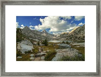 Entering Evolution Basin Framed Print