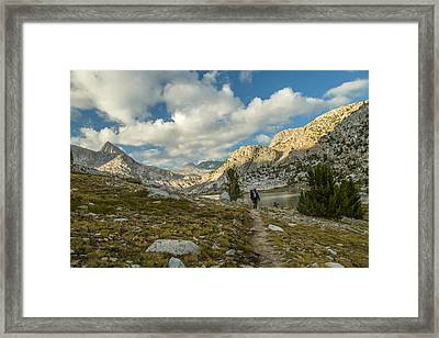 Entering Evolution Paradise Framed Print