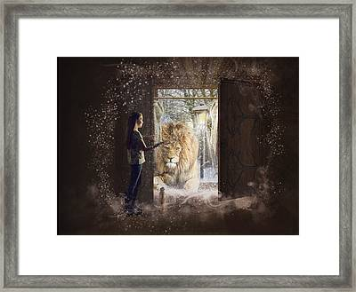 Entering Narnia Framed Print