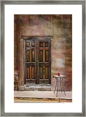 Entering Santa Fe Framed Print