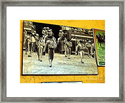 Entering The Ring Framed Print by Mexicolors Art Photography