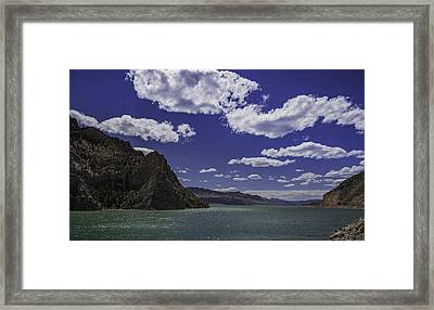 Entering Yellowstone National Park Framed Print