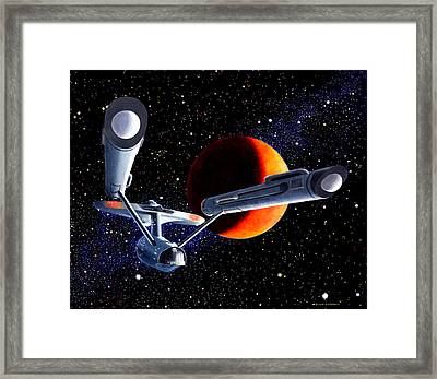 Enterprise Framed Print