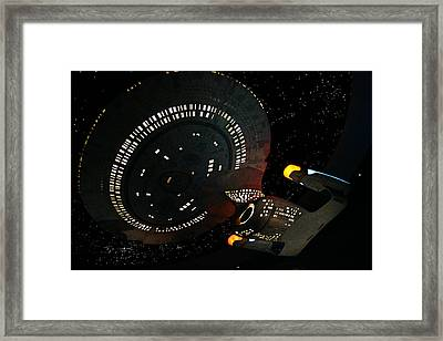Framed Print featuring the photograph Enterprise by Kristin Elmquist