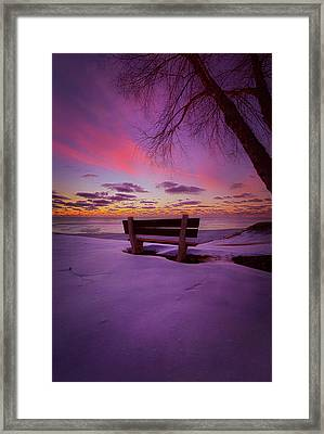 Framed Print featuring the photograph Enters The Unguarded Heart by Phil Koch