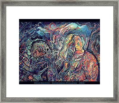 Entheogenic Evolution Framed Print by Steve Griffith