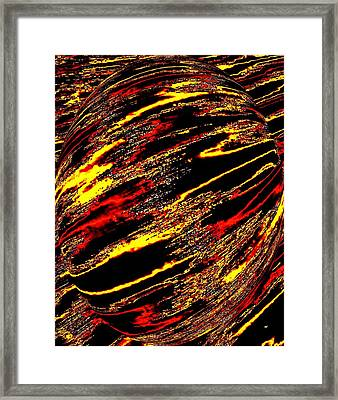 Enthusiasm 2 Framed Print by Will Borden