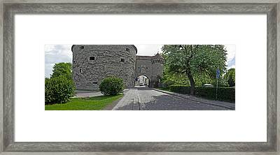 Entrance Of A Fortress, Fat Margaret Framed Print