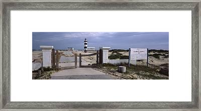Entrance Of A Lighthouse, Cape Recife Framed Print
