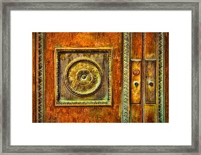Entrance Framed Print by Susan Candelario