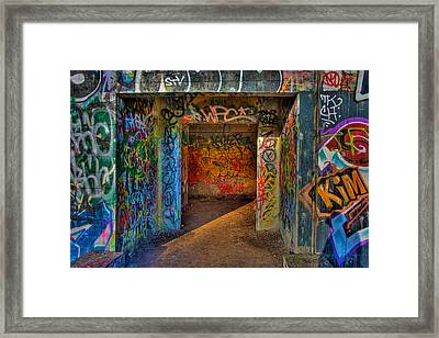 Entrance To The Asylum Framed Print by William Wetmore