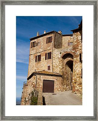 Entrance To The City Framed Print by Rae Tucker