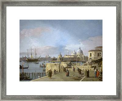 Entrance To The Grand Canal From The Molo Framed Print by MotionAge Designs