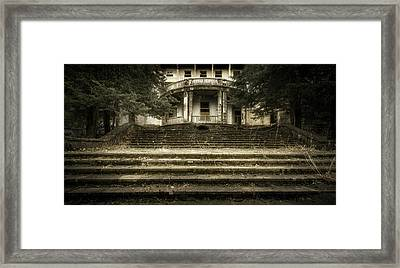 Entrance To The Past Framed Print by Svetlana Sewell