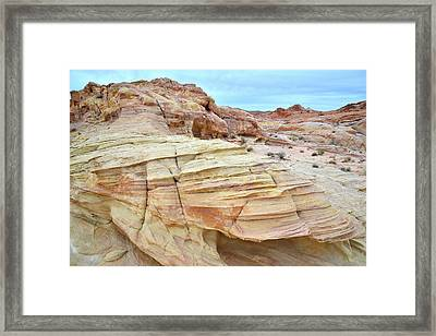 Framed Print featuring the photograph Entrance To Wash 3 In Valley Of Fire by Ray Mathis
