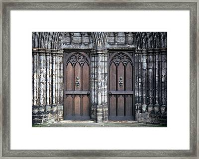 Framed Print featuring the photograph Entranced by Kenneth Campbell
