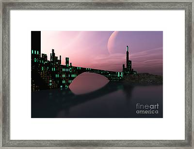 Entrancement Framed Print by Corey Ford