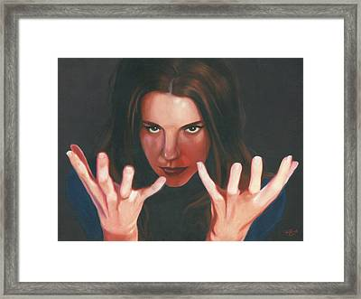 Entrancing Framed Print by Kevin Clark