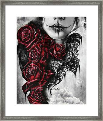 Entrap  Framed Print by Sheena Pike
