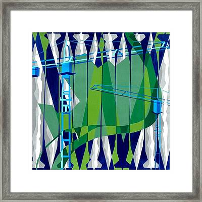 Entrench Framed Print by Dennis McCann