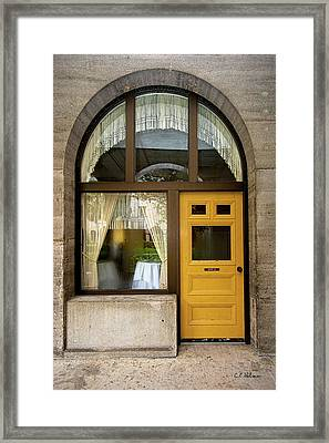 Entry Geometrics Framed Print