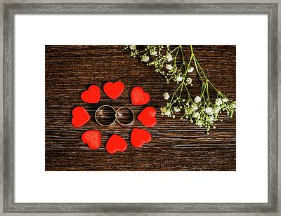 Entwined. Framed Print by Angela Aird