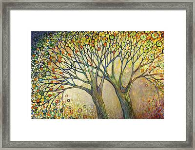 Entwined No 2 Framed Print by Jennifer Lommers