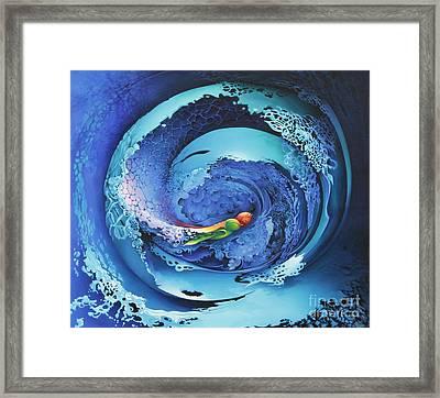 Entwinned Framed Print by Symona Colina