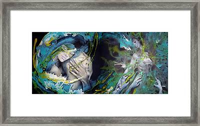 Envied Love Framed Print by D'Art Studio