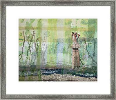 Environment Framed Print by Cathy Jacobs