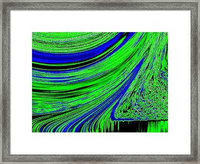 Environmental Ebb Framed Print