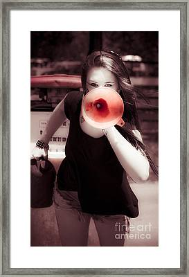 Environmental News Announcement Framed Print by Jorgo Photography - Wall Art Gallery