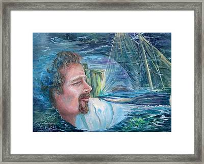Envisioned Voyage Framed Print by Renee Dumont  Museum Quality Oil Paintings  Dumont