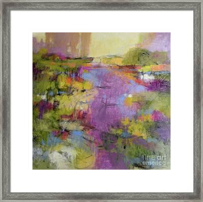 Envisioning Violet 1 Framed Print