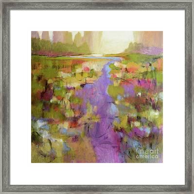 Envisioning Violet 2 Framed Print